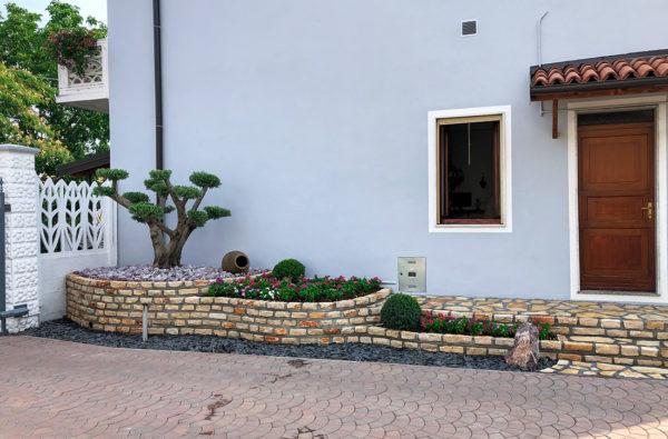 Dopo la ristrutturazione del giardino